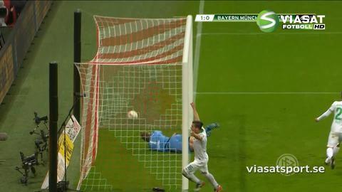 Sammandrag: Vidals filmning hjälpte Bayern vidare i cupen