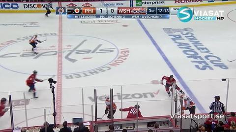 Sammandrag: Washington Capitals-Philadelphia Flyers (0-2)