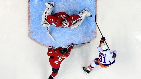 Sammandrag: Washington-NY Islanders 3-4