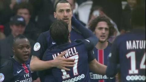 Se Zlatans alla tre mål mot Nice