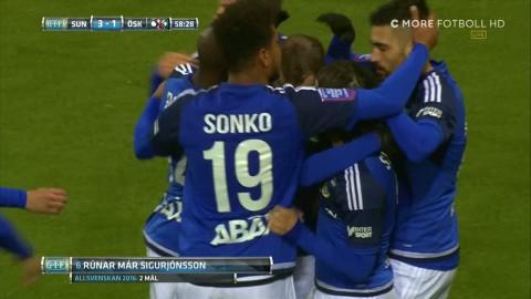 Sigurjonsson dundrar in 3-1 till Sundsvall