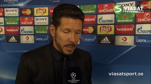 """Simeone: """"Kommer bli en kanonmatch i München"""""""