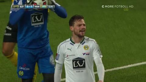 Smarason orsakar straff på nytt - Elfsborg sätter 4-1