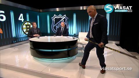 """TV: Granqvist hyllar Boston-duons målknep: """"Något för unga spelare att titta på"""""""