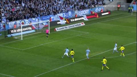 TV: Se höjdpunkterna från när Gif Sundsvall chockade och vann mot Malmö