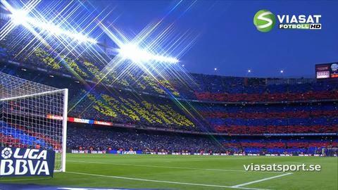 Video: Mäktiga hyllningen till Johan Cruyff på Nou Camp