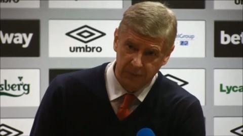 """Wenger: """"Nu har vi gjort det svårt för oss..."""""""