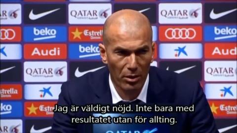 """Zidane: """"En psykologisk seger"""""""