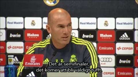 Zidane glad över lottningen - därför har Real en fördel mot City