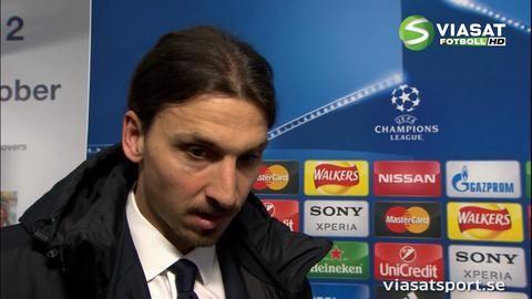 """Zlatan: """"Jag är mycket besviken"""""""