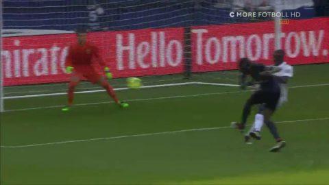 Zlatan passar fram Matuidi - 2-0 till PSG
