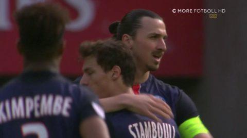 Zlatan smäller in 1-0 för PSG