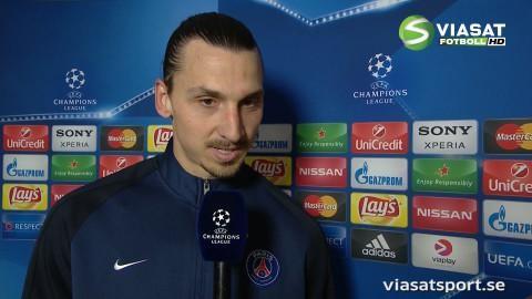 """Zlatan: """"Vi måste spela bättre"""""""