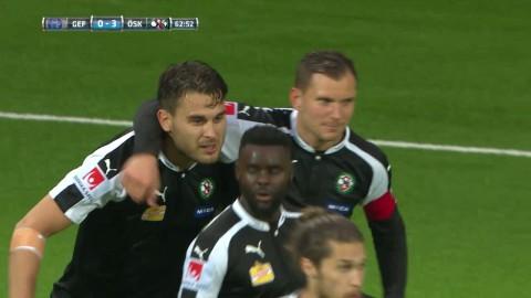 Ajdarevic sätter 3-0 på frispark