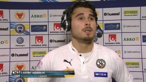 """Ajdarevic: """"Vi förtjänar ingenting, vi tror att bollen är en bomb"""""""