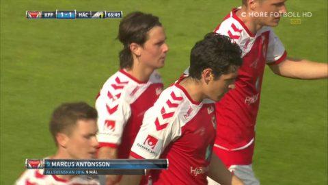 Antonsson med nionde målet för året - kvitterar på straff