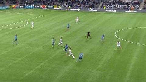Antonsson sticker igenom och gör sitt andra - 3-0 KFF
