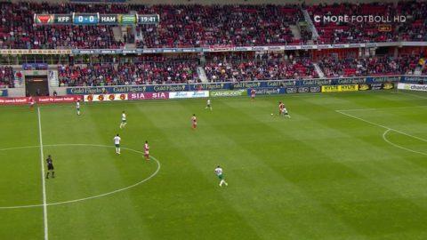 Antonsson tar tillvara på en bjudning - 1-0 Kalmar