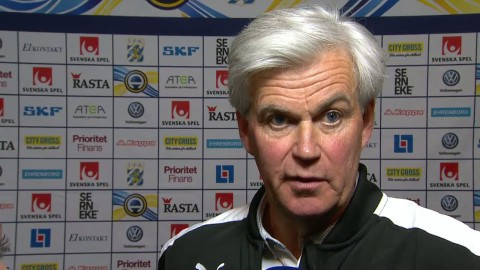 """Bergstrand om förlusten: """"Tyckte vi slarvade bort mycket idag"""""""