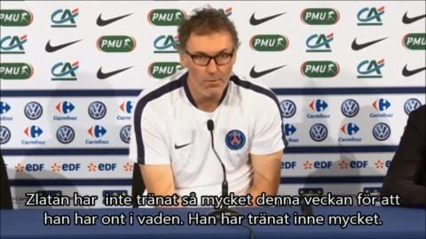 """Blanc: """"Gudarna ska veta Zlatans enorma mentalitet"""""""