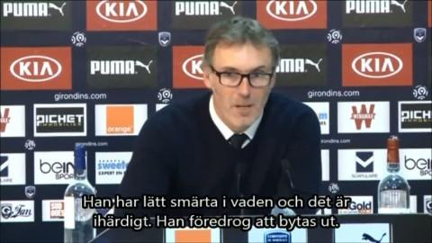 "Blanc: ""Tar inga risker med Zlatan"""