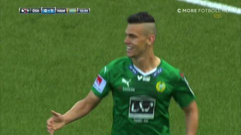 Drömstart för Hammarby - Alex smäller in 1-0 direkt