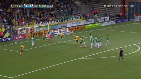 En fräck frisparksvariant av rang ger Elfsborg 2-0