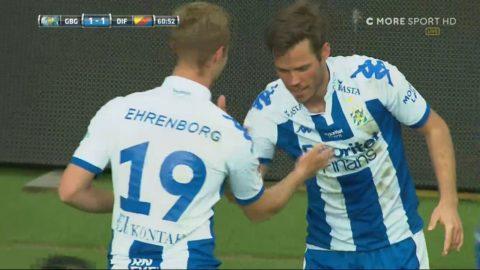 Engvalls första mål för året - 1-1 mot Djurgården