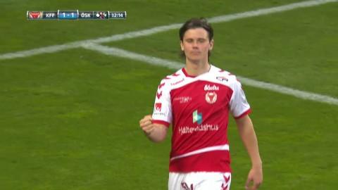 Flytmål för Antonsson - utjämnar för KFF mot Örebro