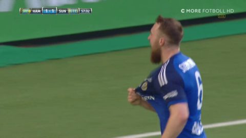 Gif Sundsvall svarar direkt - Sigurjonsson placerar in 1-1