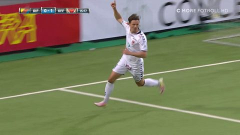 Glödhete Antonsson petar in 1-0 mot Dif