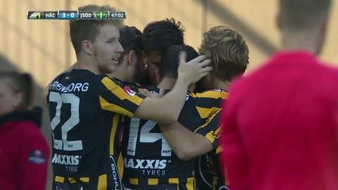 Häcken utökar till 3-0 mot J-Södra - Jeremejeff målskytt