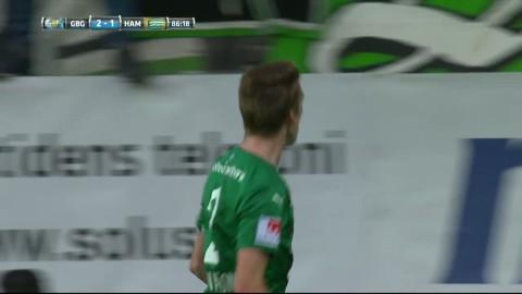 Hammarby skapar spänning i slutet - reducerar till 2-1