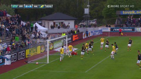 Här reducerar Falkenberg mot AIK