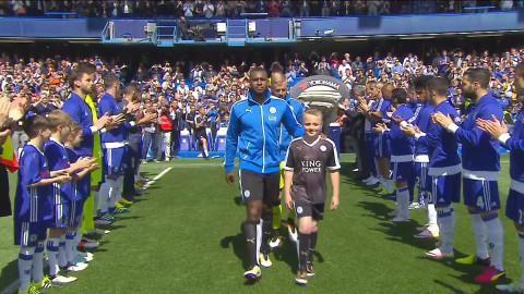 Höjdpunkt: Chelsea applåderar in årets PL-mästare