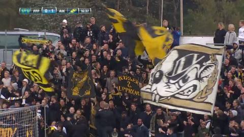 Höjdpunkter: Andra raka för Norling - AIK slog Falkenberg