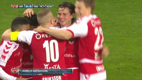 Höjdpunkter: Antonsson stor hjälte för Kalmar när Swärdh såg rött