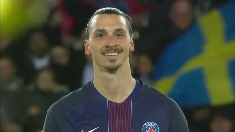 Höjdpunkter: Hyllad Zlatan slog målrekord i sista matchen