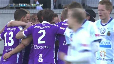 Höjdpunkter: IFK Göteborg vände och krossade Gefle i målfest