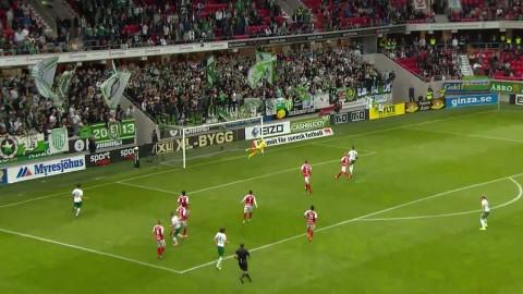 Höjdpunkter: Israelsson räddade Hammarby mot gamla klubben
