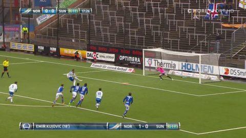 Höjdpunkter: Norrköpings starka hemmafacit fortsätter - 3-1-seger mot Sundsvall