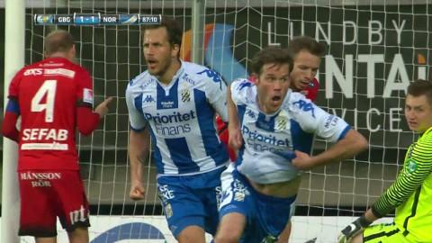 Höjdpunkter: Salomonsson räddade en poäng åt IFK