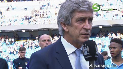 Intervju: Pellegrini tog farväl av Etihad Stadium