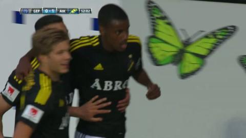 Isak ger AIK ledningen - knoppar in 1-0