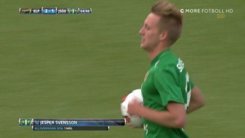J-Södra skapar spänning efter felpassningen - Svensson kontrar in 2-1