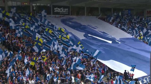 Janne Andersson hyllas med pompa och ståt på Östgötaporten