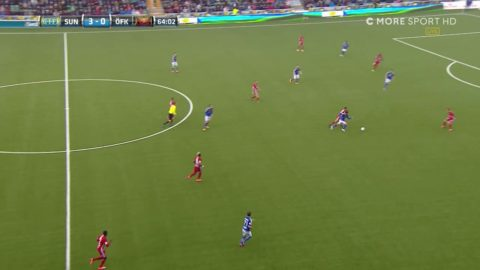 Krossen fortsätter - Silva chippar in 4-0 till Giffarna