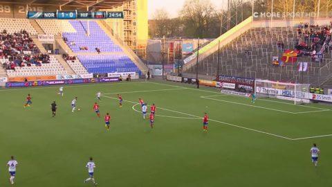 Kujovic bombar in 2-0 för Norrköping