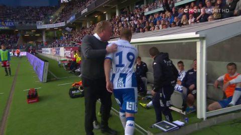 """Lennartsson till Engvall: """"Sätt dig ner och håll käften"""""""