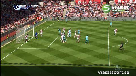Mål: Antonio nätar på hörna (0-1)